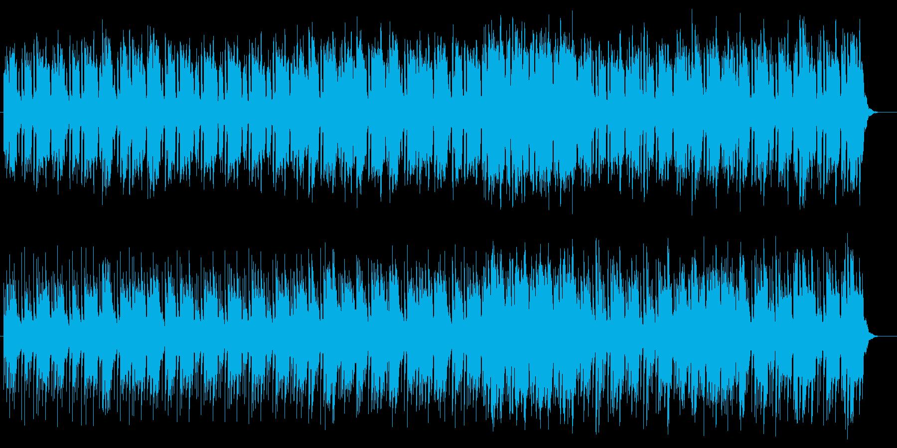 幻想的でメローなポップサウンドの再生済みの波形