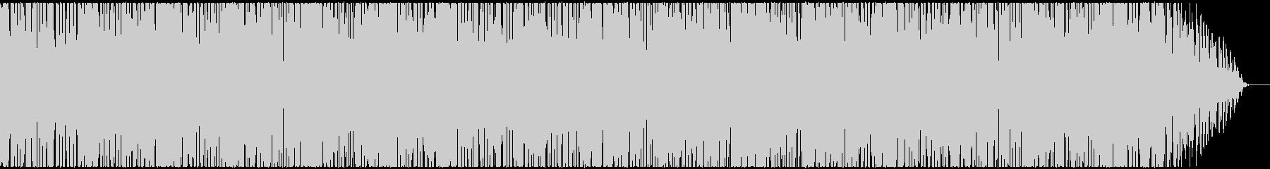 アジアンテイストのポップチューンの未再生の波形