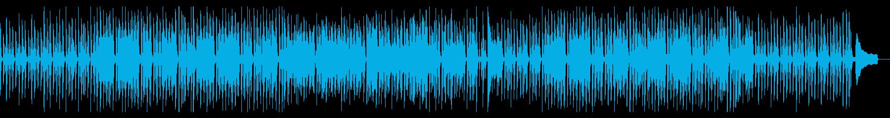 ほのぼのまったりした日常曲の再生済みの波形
