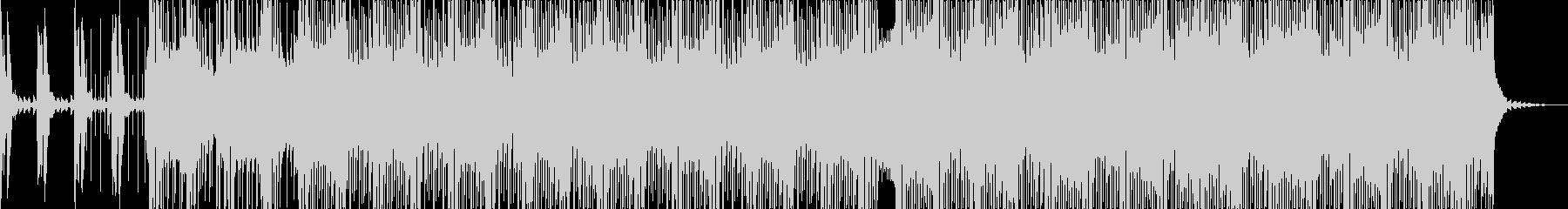 シンプルなディスコミュージックの未再生の波形