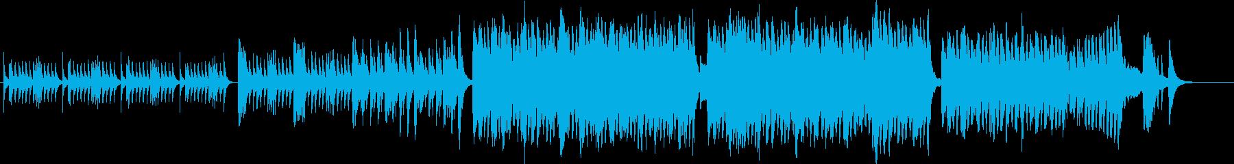 琴のアップテンポで緊迫感ある和風曲の再生済みの波形