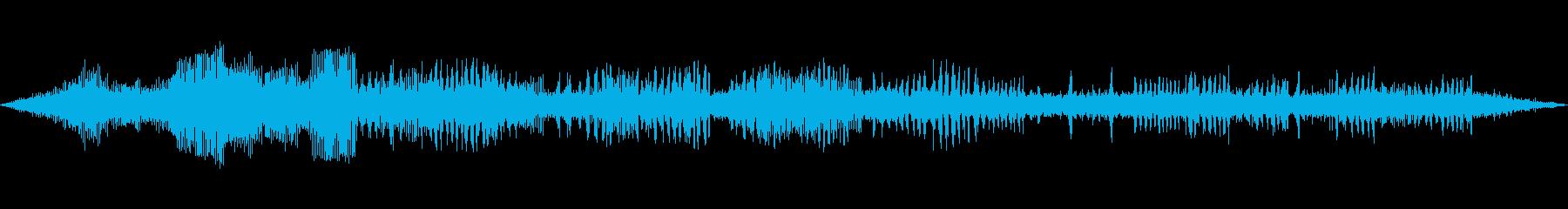 カジカガエル(カエルの鳴き声) 三徳川の再生済みの波形