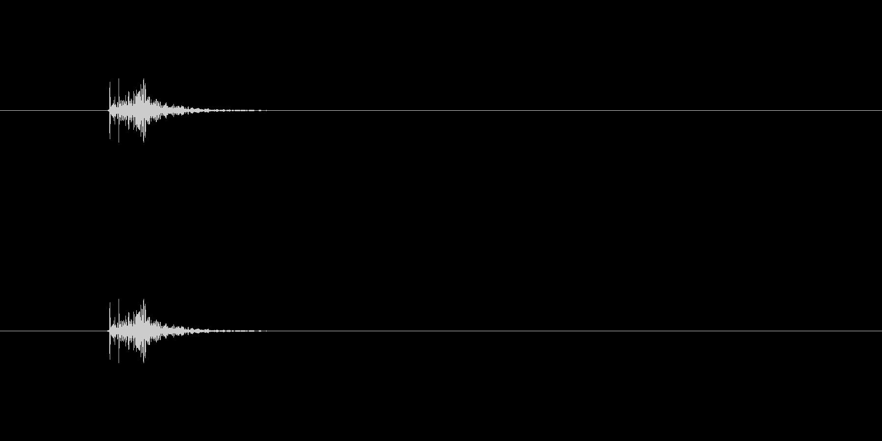 【本01-7(置く)】の未再生の波形