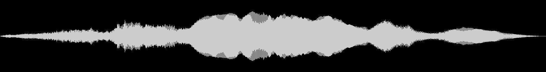 アウトインスペース1の未再生の波形