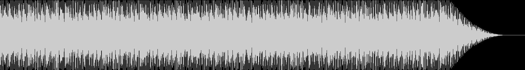 90年代を意識したヒップホップの未再生の波形