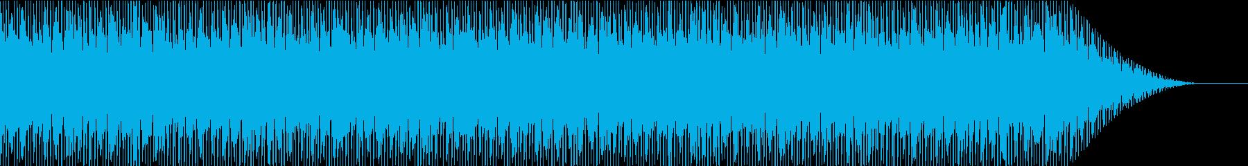 90年代を意識したヒップホップの再生済みの波形