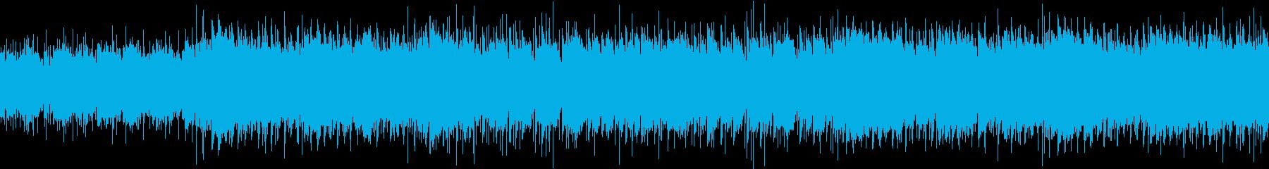 陽気で力強いレトロなブルースの再生済みの波形