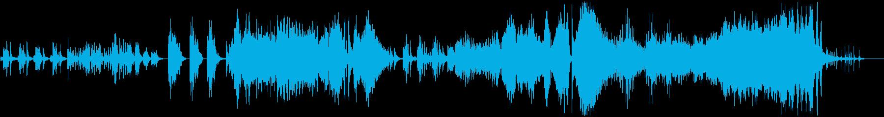 ソロピアノ。エリック・サティがキー...の再生済みの波形