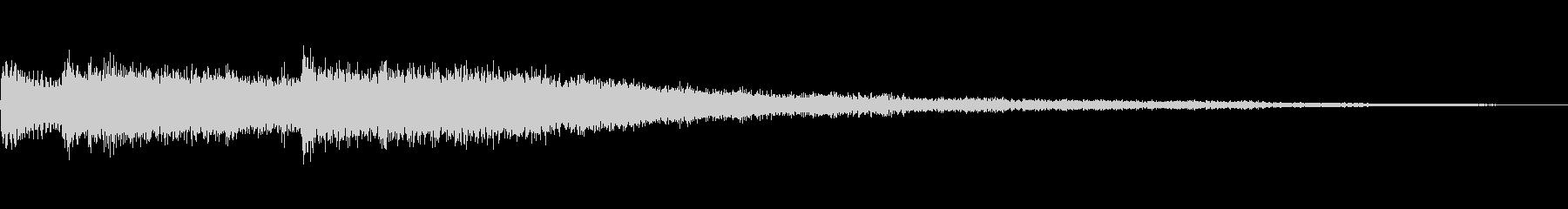[チャラーン]スキル獲得(明るく鋭い)の未再生の波形