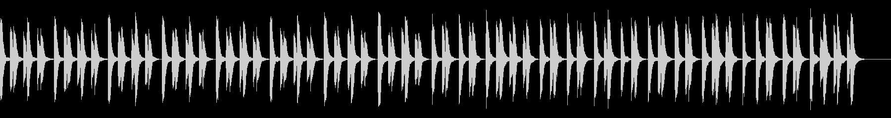 知育・料理・パズル・日常ピアノ30Aの未再生の波形