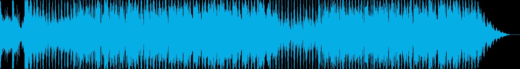 ハロウィンの恐怖感があるオーケストラの再生済みの波形