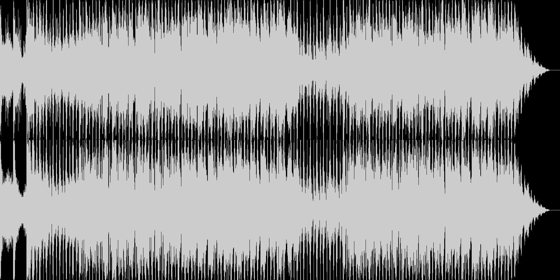 ハロウィンの恐怖感があるオーケストラの未再生の波形