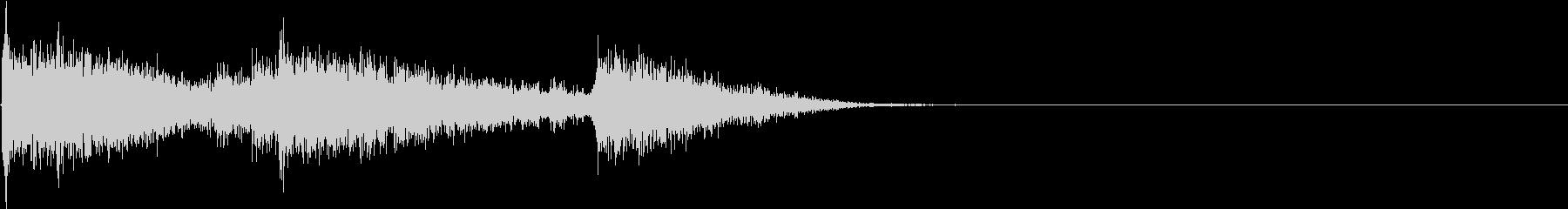 KATANA 刀を落とす音1の未再生の波形