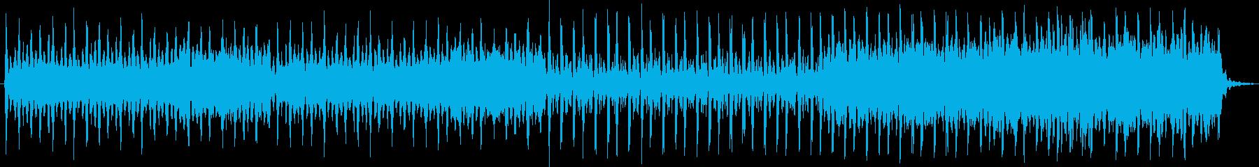 スタッカート弦、フルート、木琴を使...の再生済みの波形