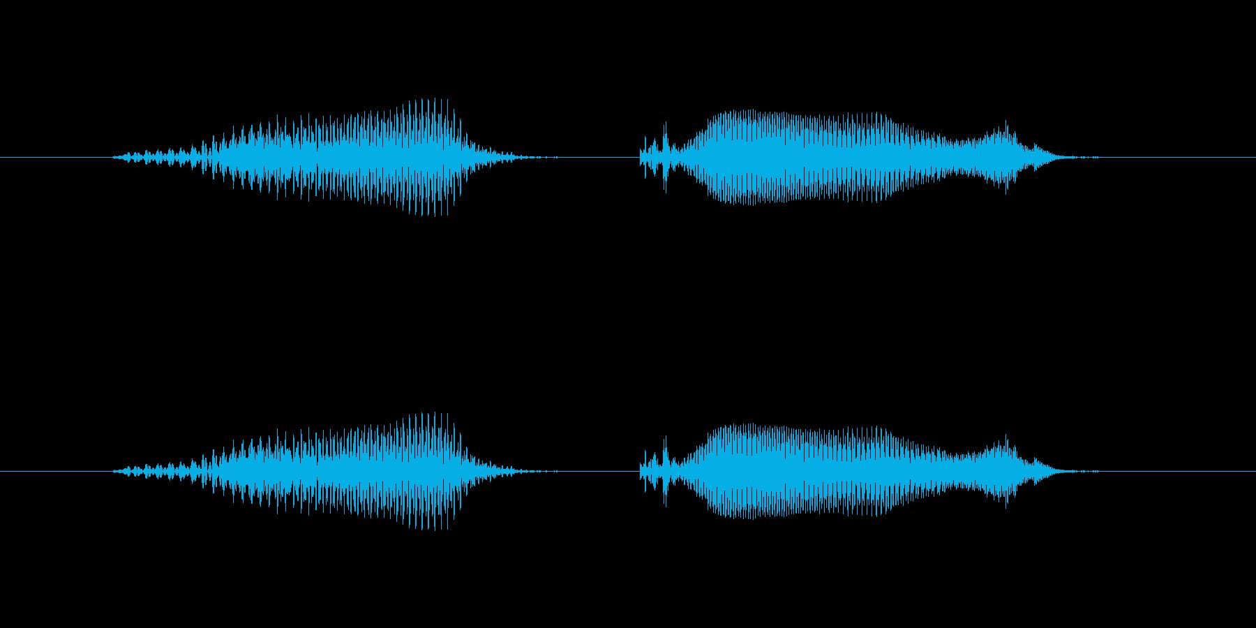 6(ろく)-明るいトーンお兄さん風の再生済みの波形