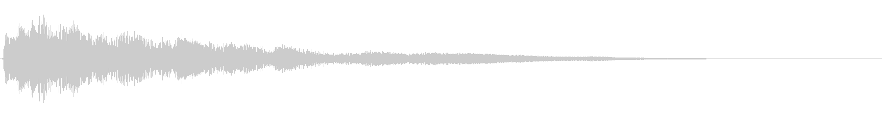 琴 アジアン 和 雅 効果音アイキャッチの未再生の波形