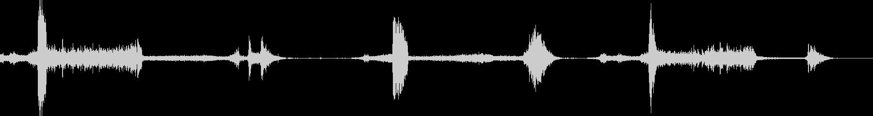 リンカーン回転とタイヤバーンアウトの未再生の波形