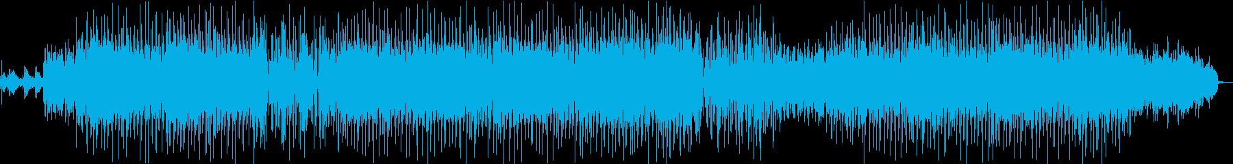 温かいエレピが印象的なポップス系BGMの再生済みの波形