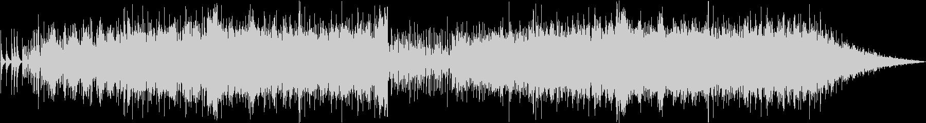 Pianoとシンセサイザーのエレクトロの未再生の波形