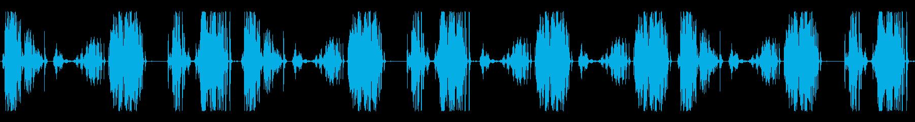 さびた古いティボリホイール、ワーク...の再生済みの波形