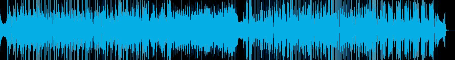 後半から高速・オシャレなビート感 短尺★の再生済みの波形