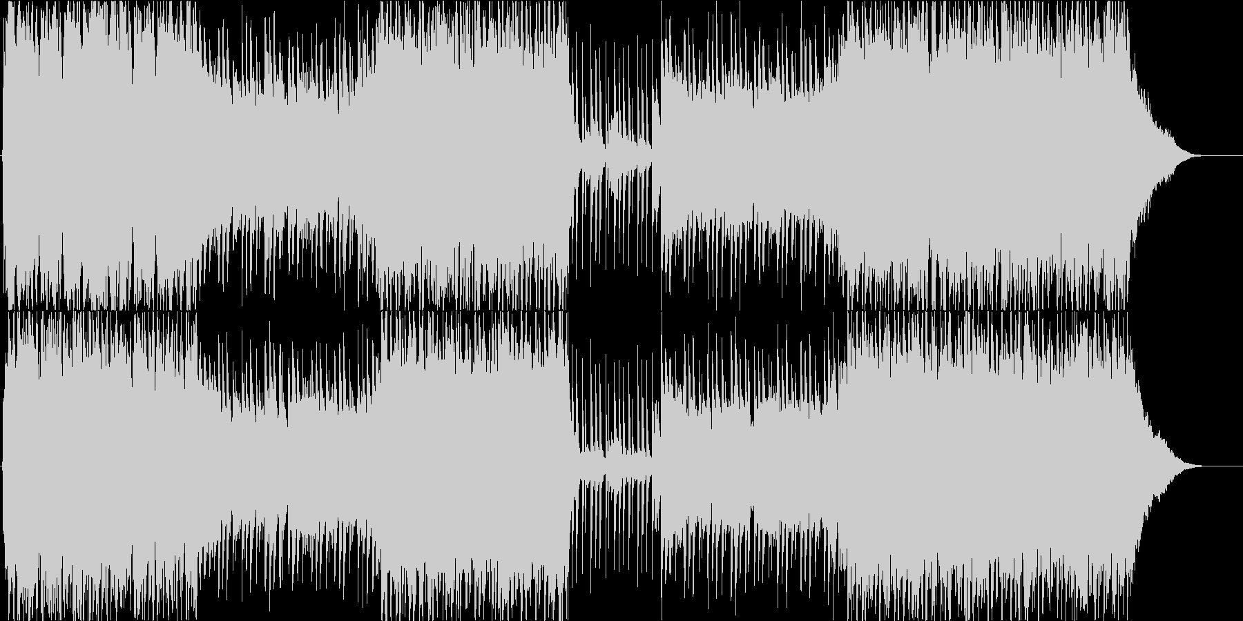 オーケストラ 爽やか 航海 船出の未再生の波形
