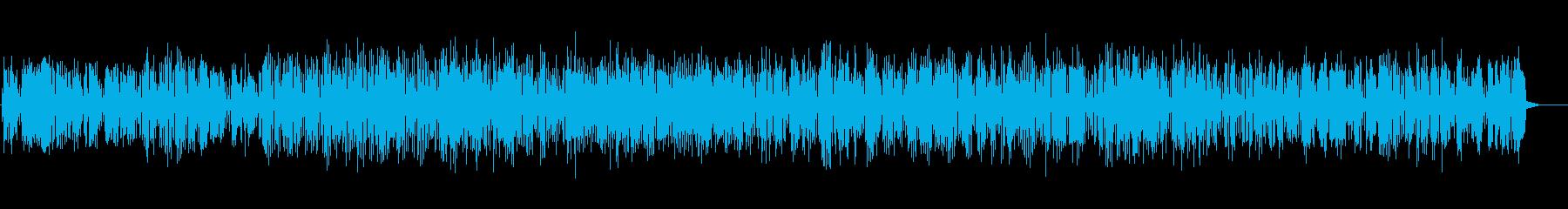 陽気な雰囲気を感じるクラリネットのBGMの再生済みの波形