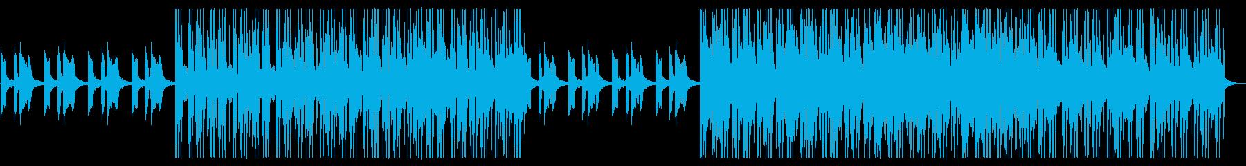 都会/爽やか/R&B_No466_1の再生済みの波形