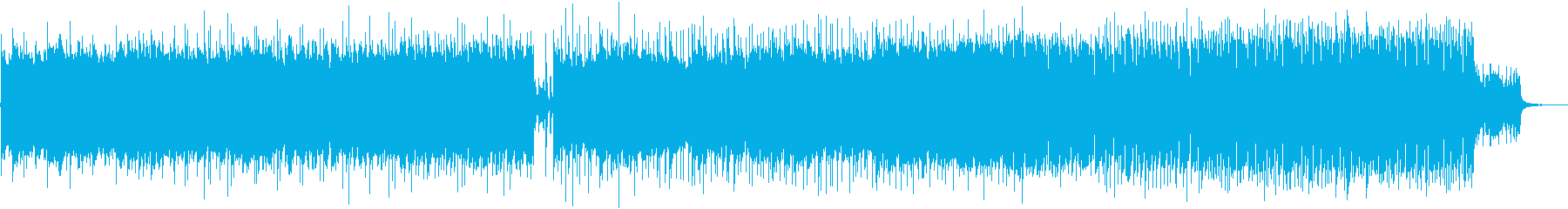 Chill Music 三拍子の揺らぎの再生済みの波形