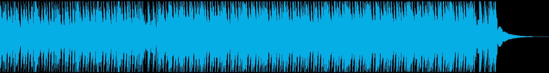 トロピカルハウスパーティー(60秒)の再生済みの波形