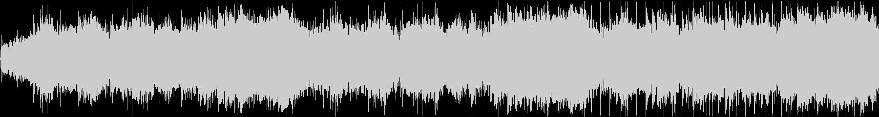 不気味な雰囲気を演出する効果音の未再生の波形