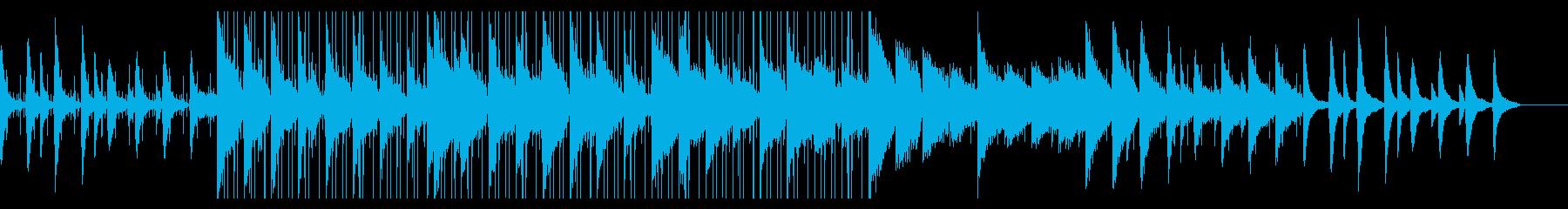 ブルーススタイルのソウルフルで親密なローの再生済みの波形