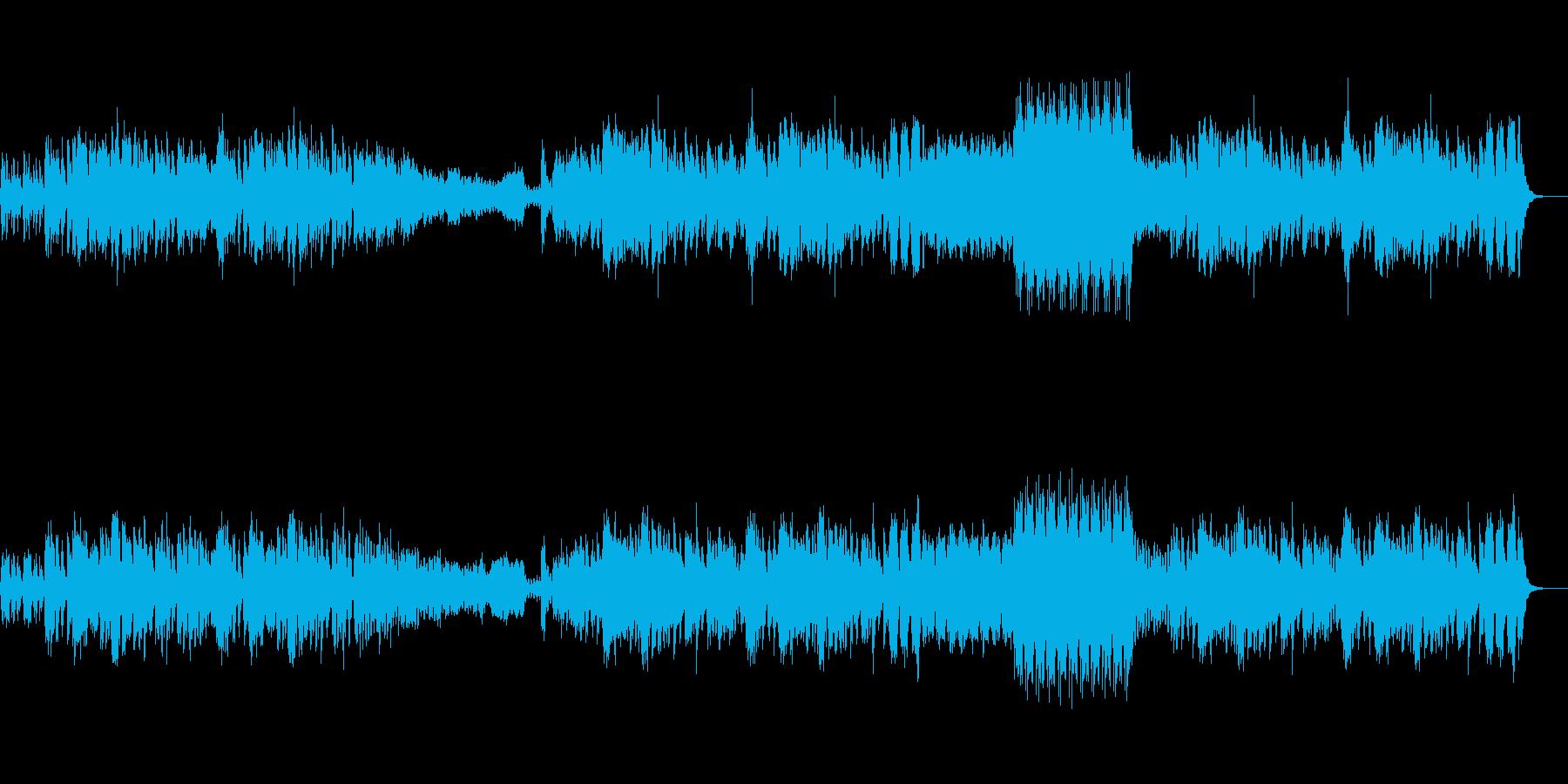 フルートの陽気なクラシック(葦笛の踊)の再生済みの波形