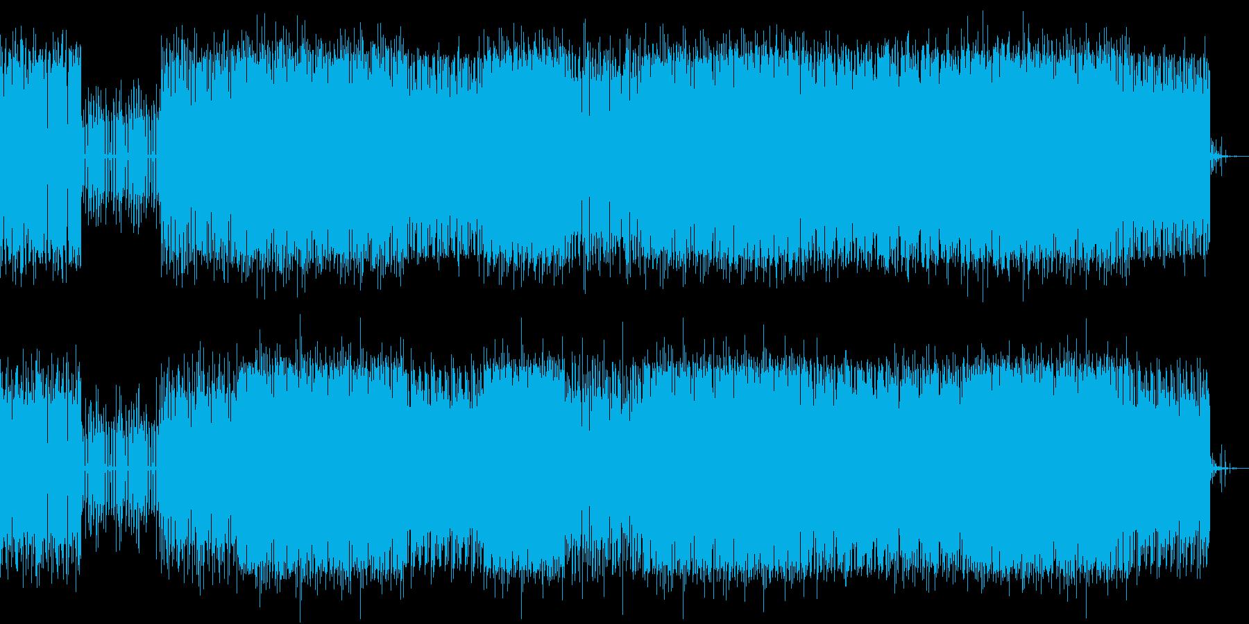 アーバン系グルーブの再生済みの波形
