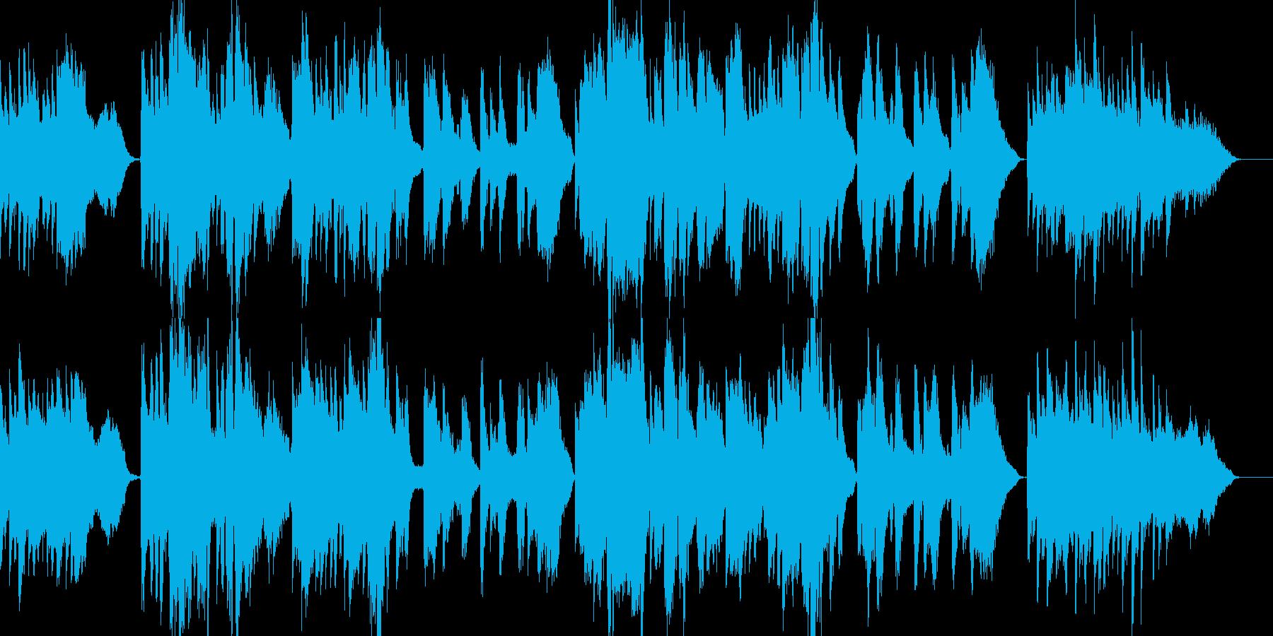 「熊本・天草地方の子守唄」ピアノ弾き語りの再生済みの波形