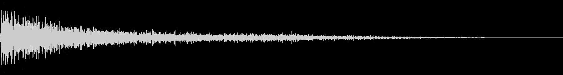 予感 不穏 ピアノ01の未再生の波形