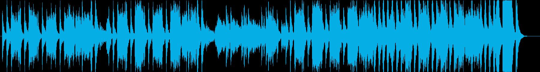 なんだか怪しいコミカルファゴットの再生済みの波形