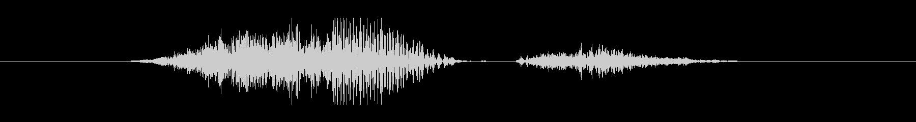 1 (アメリカ人) SIX・6!の未再生の波形
