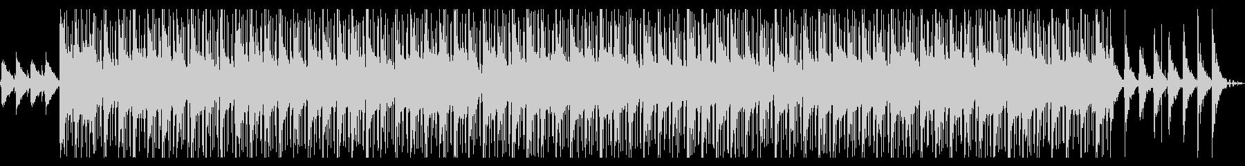 ジャジーでおしゃれなヒップホップビートの未再生の波形