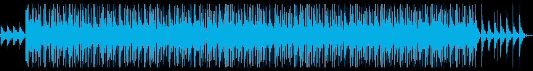 ジャジーでおしゃれなヒップホップビートの再生済みの波形