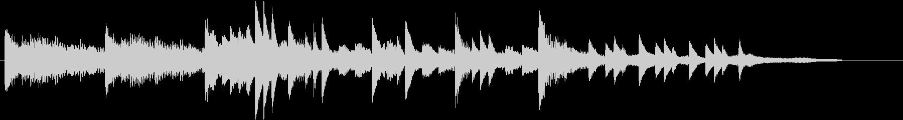 XmasキャロルオブザベルズジングルCの未再生の波形