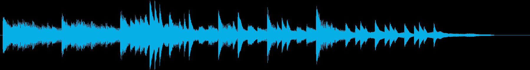 XmasキャロルオブザベルズジングルCの再生済みの波形
