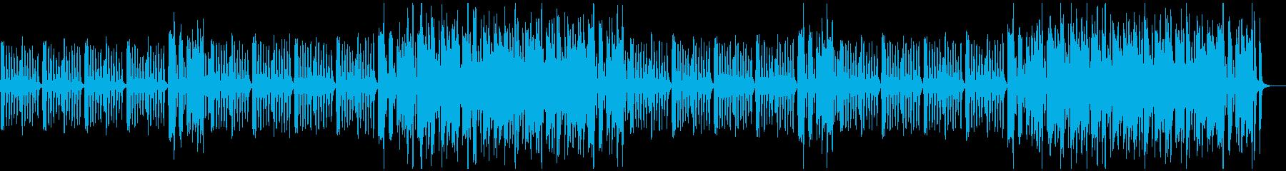 ほのぼの 日常 コミカル かわいい 木琴の再生済みの波形