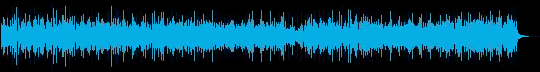 優しく温かい響きの再生済みの波形