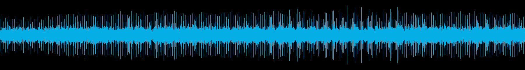 日常会話のBGM/四つ打ち/ループの再生済みの波形