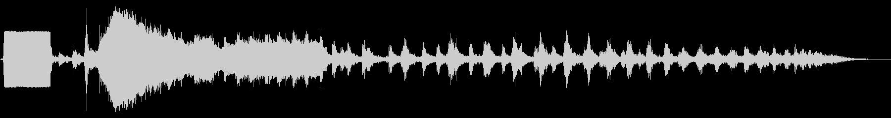 蒸気機関車の汽whiと出発の未再生の波形