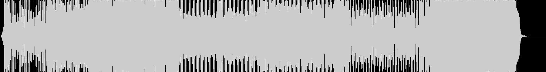 90年代風サウンドのEDM楽曲の未再生の波形