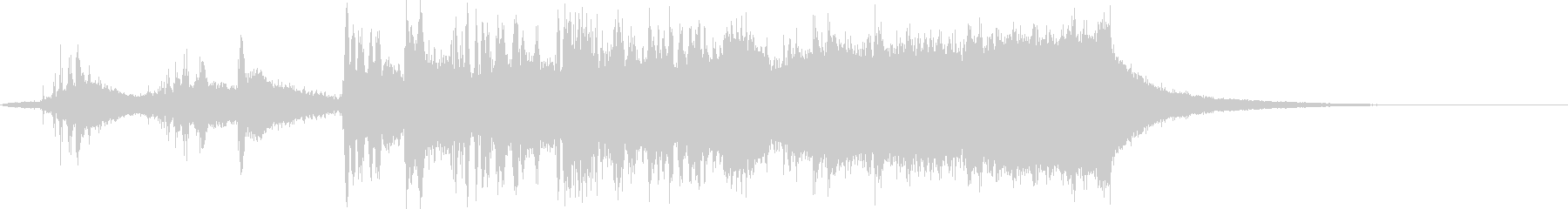 CINEMATIC RISER_35の未再生の波形