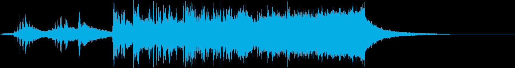 CINEMATIC RISER_35の再生済みの波形