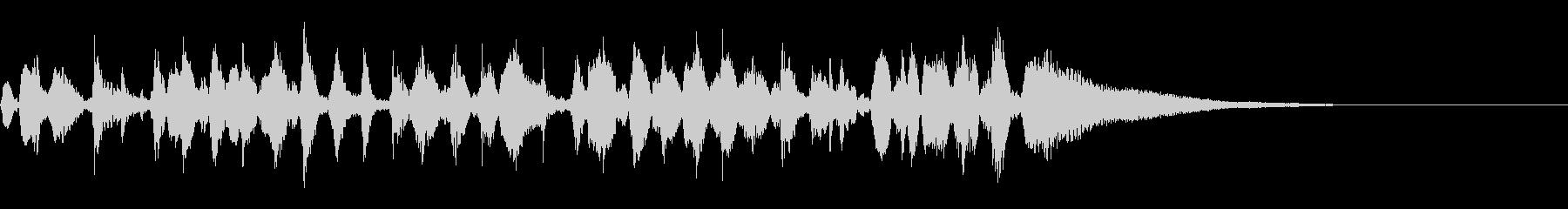 疾走ジプシーバイオリンのジングルの未再生の波形